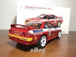 118 AutoArt 1992 Bathurst 1000 Winner Nissan R32 GTR Richards/Skaife