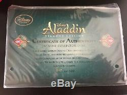 #17/500 D23 SIGNED Exclusive Red Slave Jasmine Doll Limited Edition Disney Store