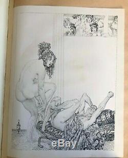 1925 Norman Lindsay LYSISTRATA 1/64 exceptionally rare MAGNIFICENT FOLIO