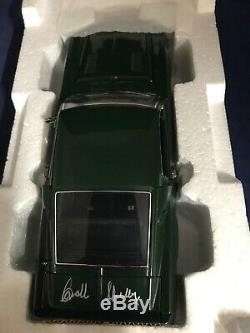 1968 Shelby Mustang GT 500 C586 Franklin 1/24 Autographed by Carroll Shelby LE
