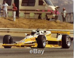 1981 Gurney Eagle Challenger Pepsi 143 Geoff Brabham Signed 43A012 Automodello