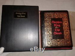 1990 Stephen King The Stand. Complete & Uncut. Signed Limited Coffin Edition