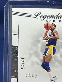 19-20 Flawless Basketball Legendary Scripts Auto /25 Magic Johnson Mint