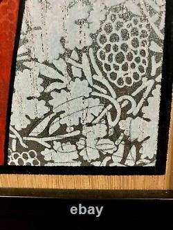 2015 Chuck Sperry MYSTAI BLUE Oak Wood Panel Print New Rare Signed and #D /30