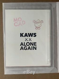 2019 KAWS MOCAD Signed & Stamped Limited Edition (of 250) AP Print Blame Game