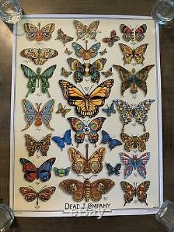 2019 VIP Dead & Company Tour Poster Limited Edition/Signed Numbered EMEK