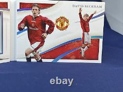 2020 Immaculate Soccer David Beckham 15/15 Signature Moves Auto On Card
