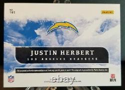 2020 Panini Origins Justin Herbert RC Auto RPA Chargers Rookie QB SSP/49 NFL ROY