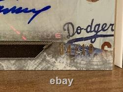 2020 Topps Triple Threads DECA 10 AUTOS Los Angeles Dodgers World Series LE 4/10