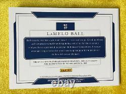2020 national treasures collegiate Lamelo Ball RPA /35 USA