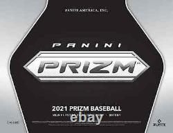 2021 Panini Prizm Baseball Hobby Box Brand New Factory Sealed Free Shipping