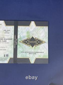 2021 Topps Diamond Icons 1/1 Dual Auto Diamond Book Mike Trout & Ken Griffey Jr