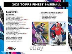 2021 Topps Finest Baseball Hobby Box Brand New Sealed Free Priority Shipping