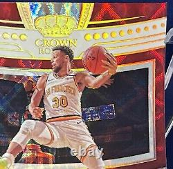 20-21 Crown Royale Stephen Curry Crown Jewel Signatures 03/17 Auto Gold
