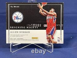 20-21 Impeccable Basketball Allen Iverson 15/25 Reigning Nights Auto Silver