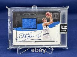 20-21 Impeccable Basketball Dirk Nowitzki Elegance Patch Auto /25