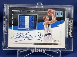 20-21 Impeccable Basketball Dirk Nowitzki Elegance Patch Auto 8/10 3D Patch Sick