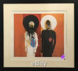 3D / Robert Del Naja limited edition Framed print PEACE AT LAST like Banksy