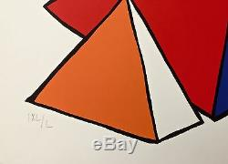 4 Great Pyramids, Limited Edition Lithograph, Alexander Calder
