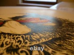 AJ Masthay print Palm Sunday Jerry Garcia Grateful Dead MINT rare stella blue
