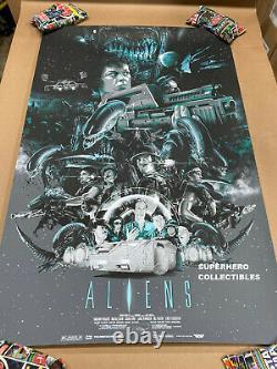ALIENS Movie Screen Print Poster #299/300 by Vance Kelly Mondo Artist