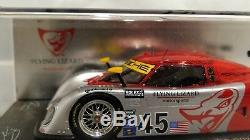 AUTOGRAPHED! Spark 1/43 Flying Lizard Riley MKXX Porsche Pole 2011 Daytona 24h