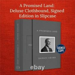 A Promised Land Deluxe Signed Edition Barack Obama US1/1 IN HAND