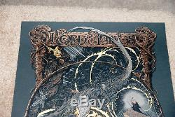 Aaron Horkey Mondo Lord Of The Rings Fellowship VARIANT Print Signed poster NEW