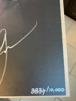 Ariana Grande Signed Limited Edition Sweetener Litho Poster Autograph # 3836