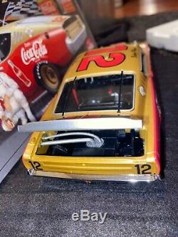 Autographed University of Racing 1969 Bobby Allison #12 Coca Cola Cyclone 1/24