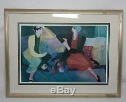 BARBARA A WOOD BEST FRIENDS Signed Numbered Limited Edition lithograph