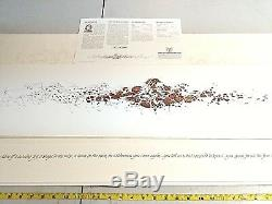 BEV DOOLITTLE When The Wind Had Wings, Signed, COA, Limited Edition, Numbered