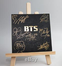 BTS 2 Cool 4 Skool Signature 7Members Signed Debut Album CD Limited Edition KPOP