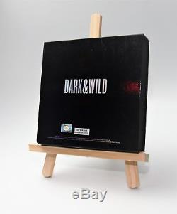 BTS Dark and Wild Signature 7Members Signed Album CD Limited Edition KPOP