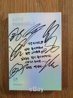 BTS Promo Love Yourself Answer Album Autographed Hand Signed Type A Message