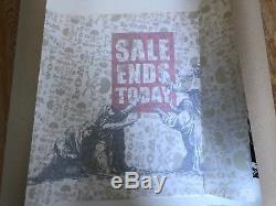 Banksy Sale Ends Today Original Signed Limited Edition Art Print Barely Legal