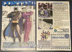 Batman The Animated Series WB Store Lithograph Joker Mark Hamill Autograph RARE