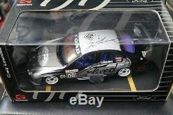 Biante 1.18 Ford Falcon Au Xr8 Craig Lowndes 00 Gibson Blue Interior Car Signed