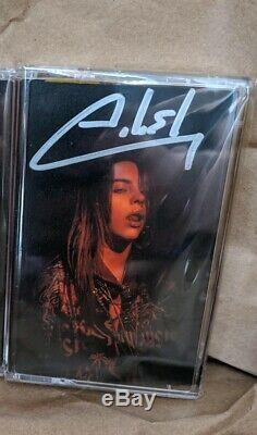 Billie Eilish Bad Guy Cassette Signed Autographed LE 500 Sealed Authentic Grammy