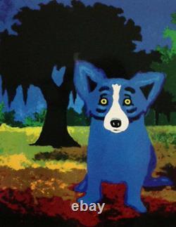 Blue Dog George Rodrigue New Orleans City Park MAKE OFFER