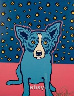 Blue Dog George Rodrigue Starry Starry Nights MAKE OFFER BA DSS