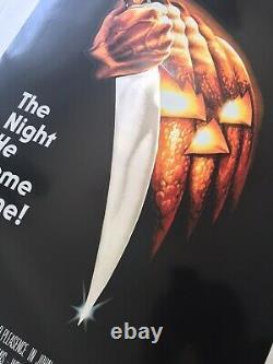 Bob Gleason Halloween Signed #1/175 Foil Print Movie Poster Jason Edmiston Mondo