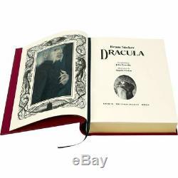 Bram Stoker Dracula Signed Limited Edition NEW & SEALED Folio Society 2019