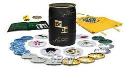Breaking Bad Limited Edition Signed Gold Barrel Bryan Cranston Vince Gilligan