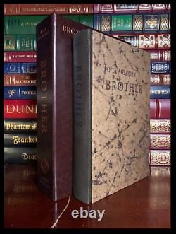 Brother SIGNED by ANIA AHLBORN New Suntup Press Lettered Leather Hardback 1/26