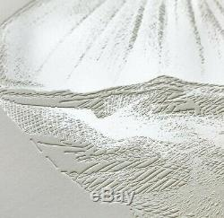 CJ Hendry Limited Edition Petal Etching Dahlia Etching