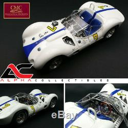 CMC M-149 118 1960 Maserati Tipo 61 Birdcage #7 Stirling Moss Signed Ed Le 500