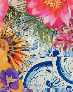 Carlos Rolon Gild the Lily (Caribbean Azulejo), 2019 Ltd Ed Signed Print 24x18