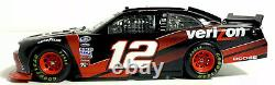 Cfs #12 Justin Allgaier 2008 Verizon Challenger 1/24 Nascar Autographed