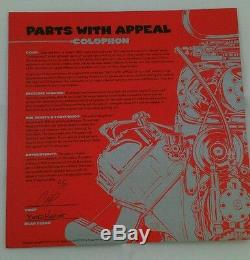 Coop Parts With Appeal set of 6 prints authenticity page signed Ltd 500 edt